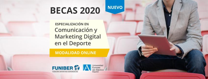 Nueva especialización en Comunicación y Marketing Digital en el Deporte promovida por FUNIBER