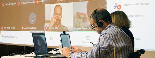 Éxito de participación en la primera ronda virtual organizada por FIDBAN
