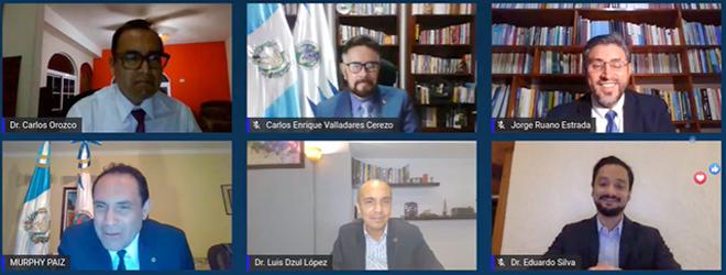 FUNIBER firma convenio de colaboración con la Universidad San Carlos de Guatemala