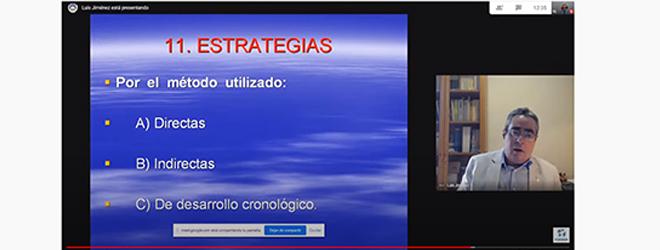 Éxito de participación en el webinar sobre interrogatorio policial