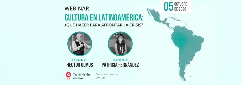 Webinar sobre Cultura en Latinoamérica organizado por FUNIBER