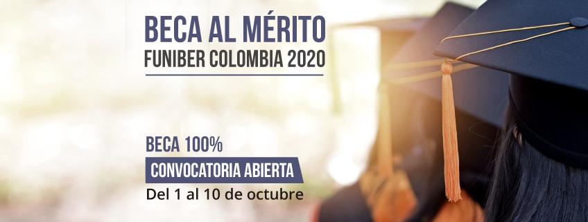 FUNIBER abre convocatoria para la beca al mérito FUNIBER Colombia 2020