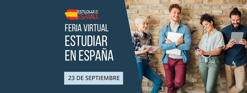 """Participación de FUNIBER en la feria virtual """"Estudiar en España"""""""