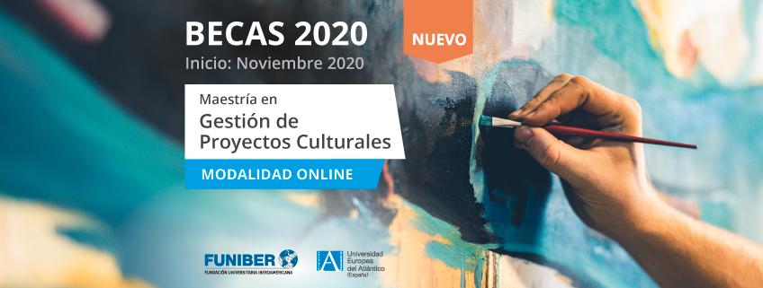 Nueva Maestría en Gestión de Proyectos Culturales promovida por FUNIBER