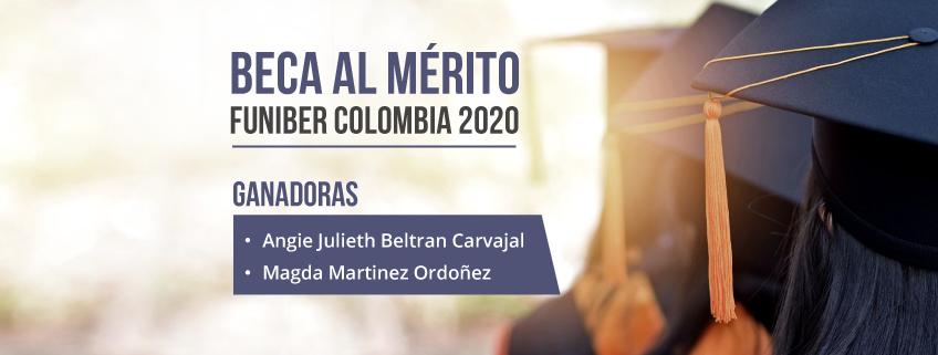FUNIBER anuncia las ganadoras de la Beca al mérito Colombia 2020