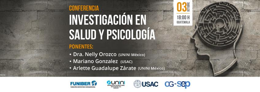 FUNIBER participará en el webinar sobre Investigación en salud y psicología