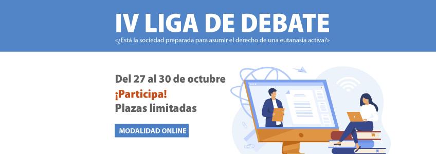 FUNIBER patrocina la IV Edición de la Liga de Debate de UNEATLANTICO