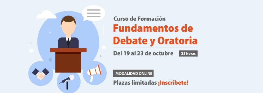 FUNIBER patrocina el curso de Formación sobre Fundamentos de Debate y Oratoria