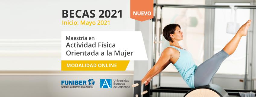 FUNIBER lanza convocatoria de becas para cursar la Maestría en Actividad Física Orientada a la Mujer