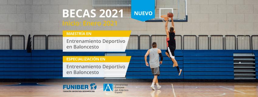Nuevos programas de entrenamiento deportivo en baloncesto promovidos por FUNIBER