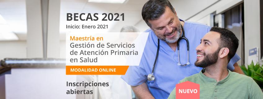 FUNIBER convoca becas para la nueva Maestría en Gestión de Servicios de Atención Primaria de Salud