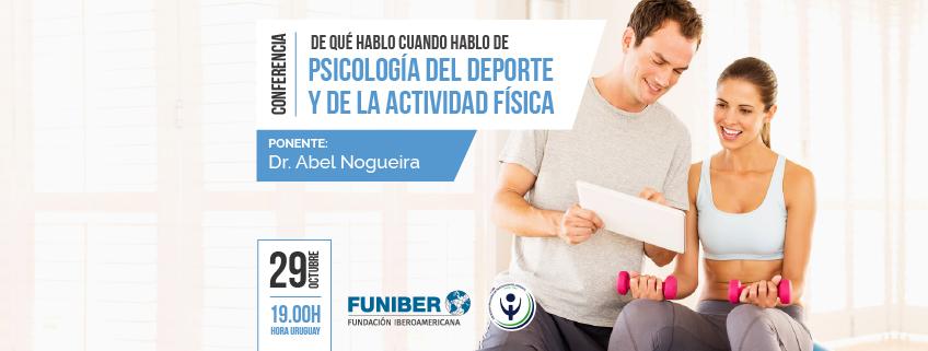 FUNIBER participa en la charla online sobre psicología del deporte