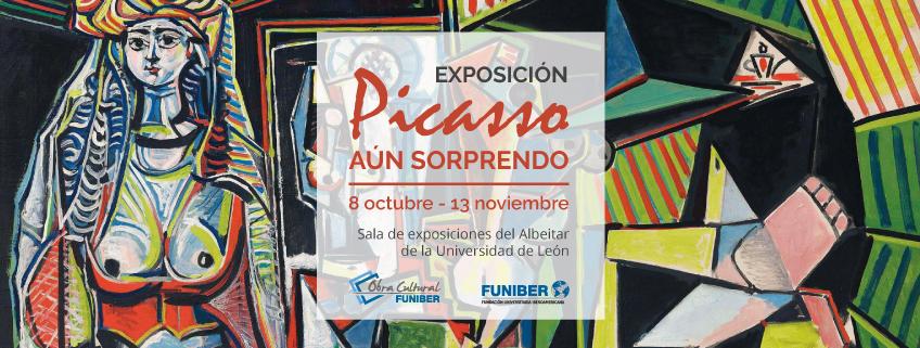 """FUNIBER patrocina la exposición """"Aún Sorprendo"""" de Picasso en la Universidad de León"""