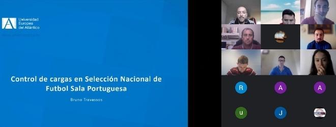 Éxito de participación en los seminarios virtuales del Máster Universitario en Rendimiento Deportivo