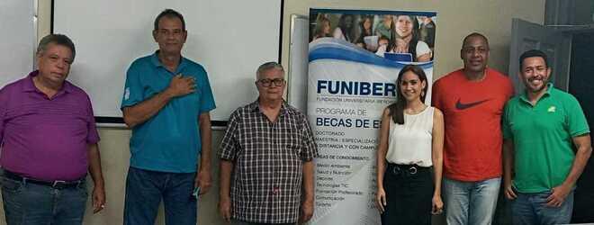 Reunión entre FUNIBER y la Federación Nicaragüense de Baloncesto (FENIBAL) para establecer vías de cooperación