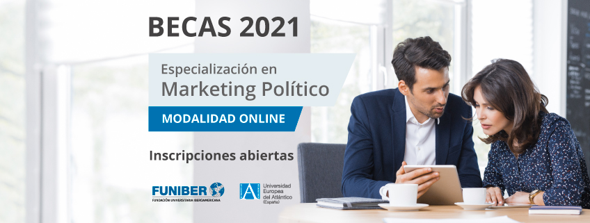 Convocatoria extraordinaria de becas para la Especialización en Marketing Político