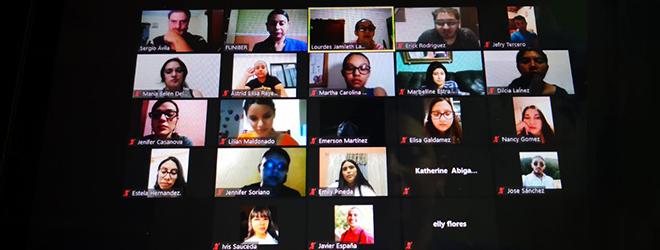 FUNIBER presenta su programa de becas en ponencia virtual organizada por la UNAH
