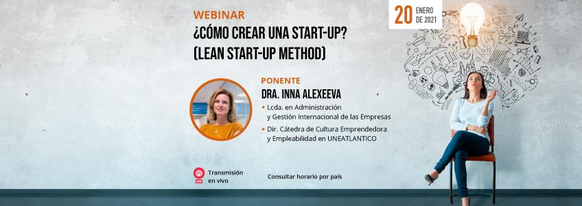 FUNIBER organiza charla taller sobre la creación de una start-up