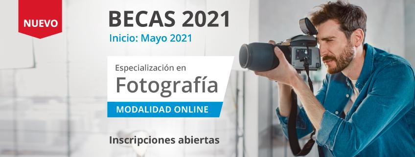FUNIBER convoca becas para la nueva Especialización enFotografía