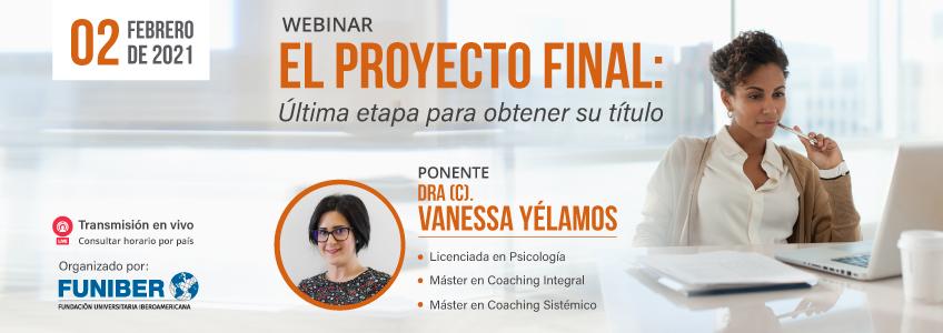 Próximo webinar sobre el Proyecto Final organizado por FUNIBER