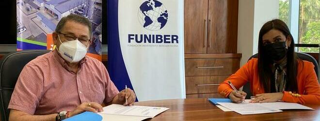 FUNIBER firma convenio de colaboración con la empresa RECO de Honduras