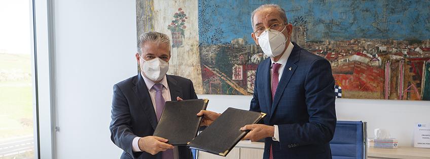 El presidente de FUNIBER mostró el campus de UNEATLANTICO al Ministro de Educación Superior, Ciencia y Tecnología (MESCYT) de República Dominicana