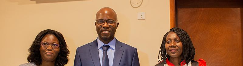 Defensa de tesis doctoral en la sede de Camerún