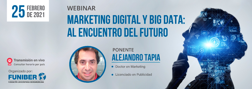 Webinar sobre Marketing Digital y Big Data organizado por FUNIBER
