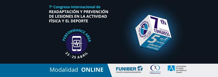 Ponencias del área Performance que se difundirán en el Congreso Internacional de Readaptación y Prevención de Lesiones organizado por FUNIBER