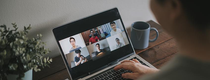 Encuentro virtual entre FUNIBER y estudiantes de Periodismo del Centro Universitario Tecnológico (CEUTEC) de Honduras