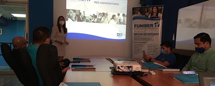 FUNIBER organiza sesión informativa para la empresa nicaragüense de Telecomunicaciones IBW