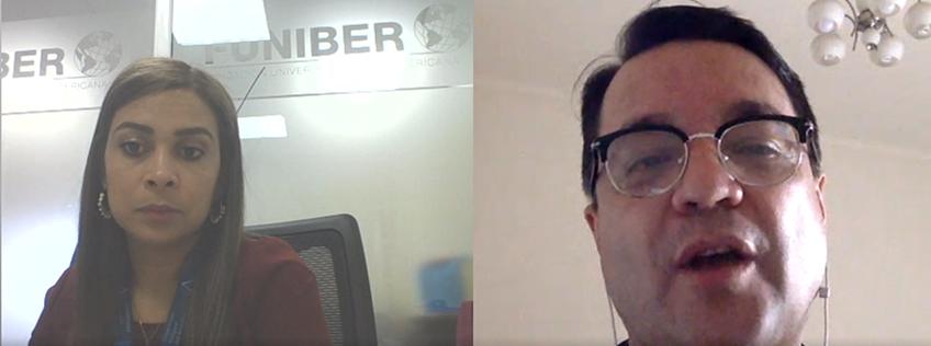 Reunión virtual entre FUNIBER y la Universidad Tecnológica Centroamericana (UNITEC) de Honduras
