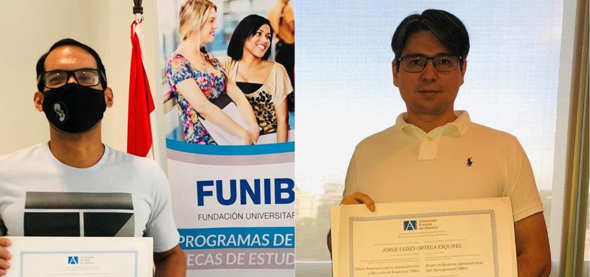 FUNIBER entrega títulos a alumnos becados en Paraguay