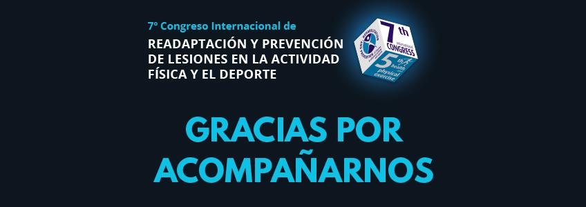 Culmina el Congreso Internacional de Readaptación y Prevención de Lesiones