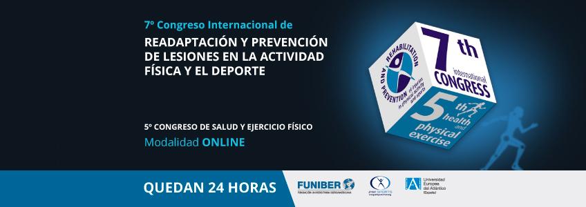 Comienza la cuenta atrás para el Congreso Internacional de Readaptación y Prevención de Lesiones