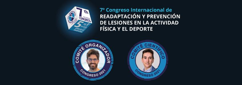 Docentes de la red universitaria de FUNIBER forman parte del comité del VII Congreso Internacional de Readaptación y Prevención de Lesiones