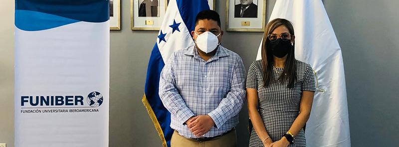 Firma de convenio entre FUNIBER y el Colegio de Periodistas de Honduras (CPH)