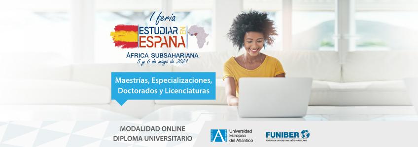 FUNIBER y UNEATLANTICO participan en feria virtual destinada a estudiantes de África Subsahariana