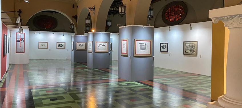 Se inaugura exposición de la obra gráfica de Antoni Tàpies en Guatemala