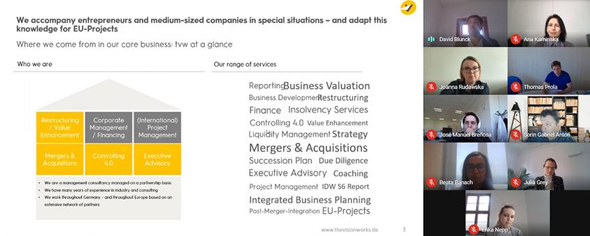 Concluye la primera reunión del proyecto europeo FINANCEn_LAB liderado por FUNIBER