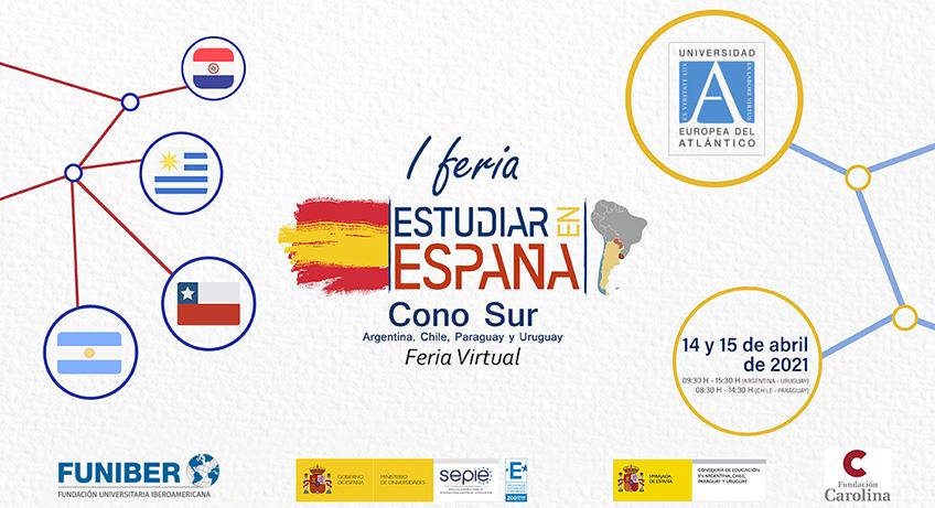 Universidad de la red de FUNIBER participa en Feria Virtual sobre estudios en España