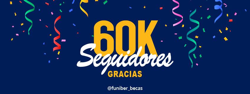 La cuenta de Instagram de FUNIBER alcanza los 60.000 seguidores