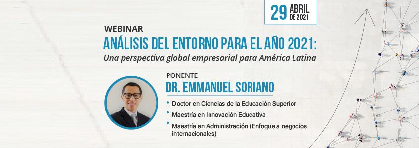 FUNIBER organiza webinar enfocado en la perspectiva empresarial latinoamericana