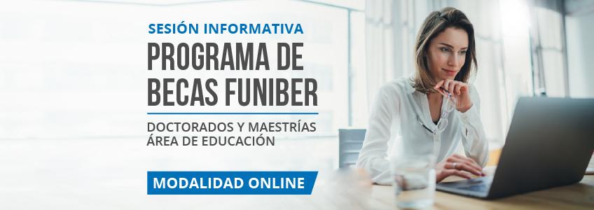 FUNIBER Ecuador realizará Presentación del Programa de Becas del área de Educación