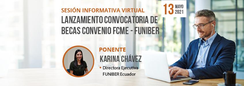 FUNIBER Ecuador y el Fondo de Cesantía del Magisterio Ecuatoriano (FCME) organizan sesión informativa virtual