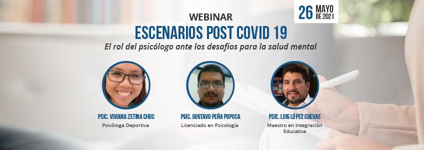 Webinar sobre psicología y Covid-19 organizado por FUNIBER
