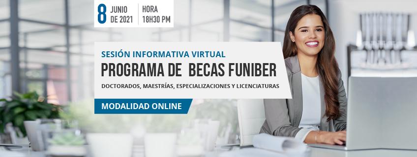 FUNIBER organiza sesión informativa virtual en Ecuador