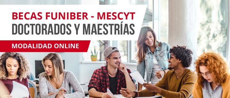 Presentación de las becas FUNIBER-MESCYT