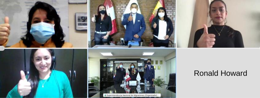 FUNIBER Perú firma convenio de cooperación interinstitucional con la Superintendencia Nacional de Migraciones