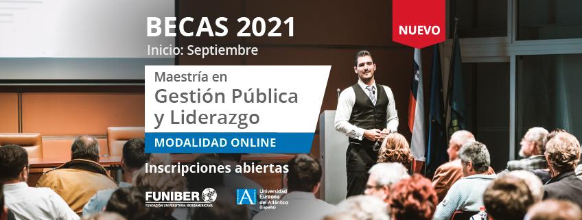 Nueva Maestría en Gestión Pública y Liderazgo promovida por FUNIBER